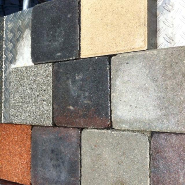 Bonte cobblestones zonder kleurkeuze