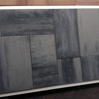 H2O Mixed Cloudy Nero/Grey Emotion (H2OMIX5505)