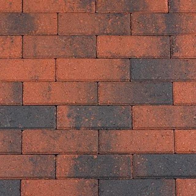 Dikformaat Rood Zwart (BDF0406)