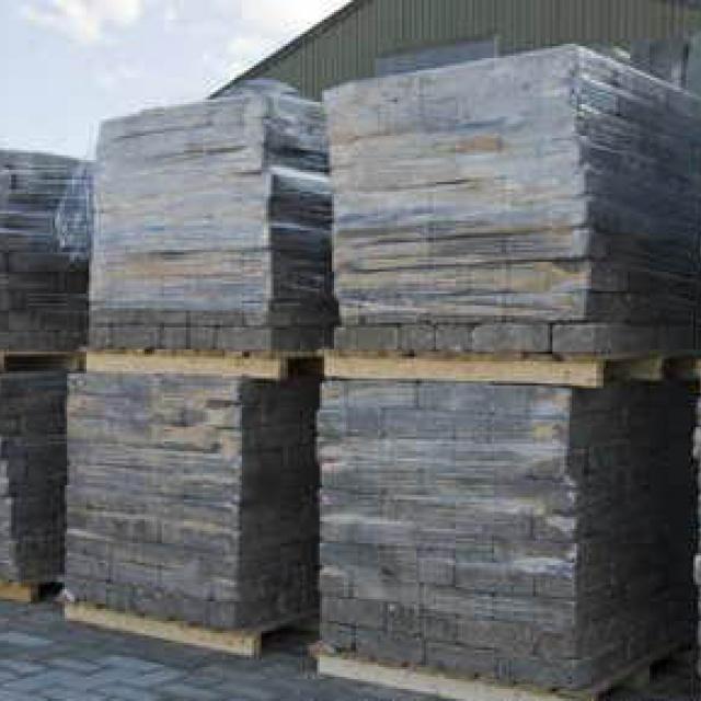 Pallet grijze betonklinkers (10 m2)