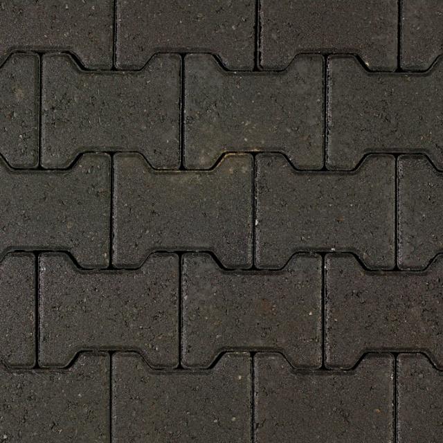 H-profielen Zwart afname per 190 m2