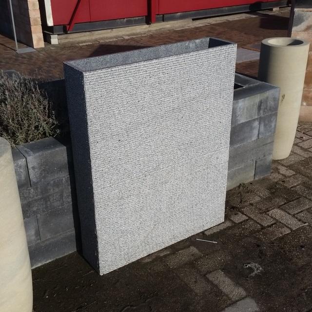Bloembak graniet natuursteen