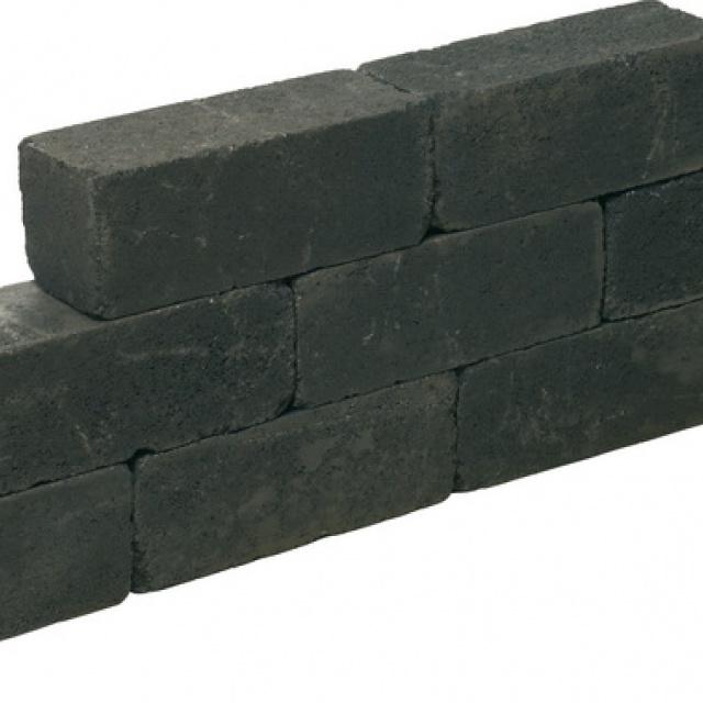 Blockstone Black getrommeld (LIN03151560TROM)