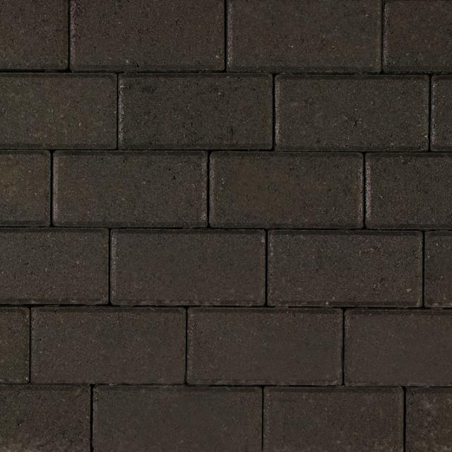 Betonklinkers Zwart Strak