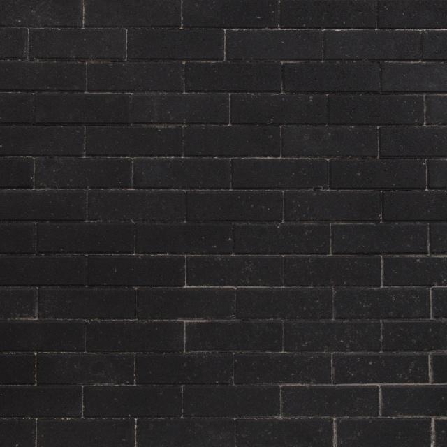 Dikformaat Zwart Strak