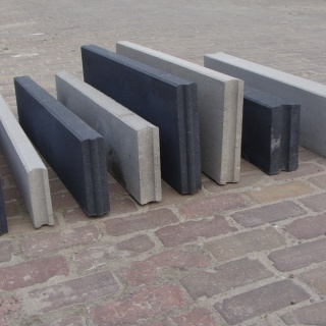 Betonband grijs 10x35x100 cm