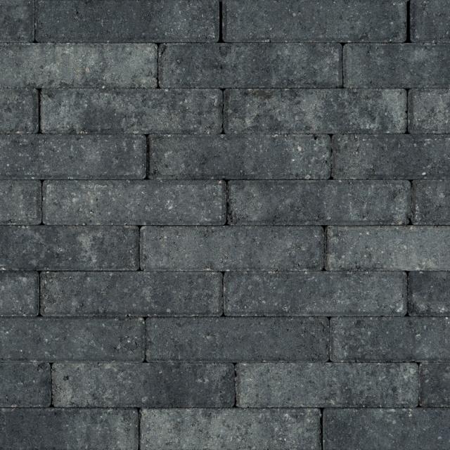 Waalformaat Grijs Zwart (BWF5506)