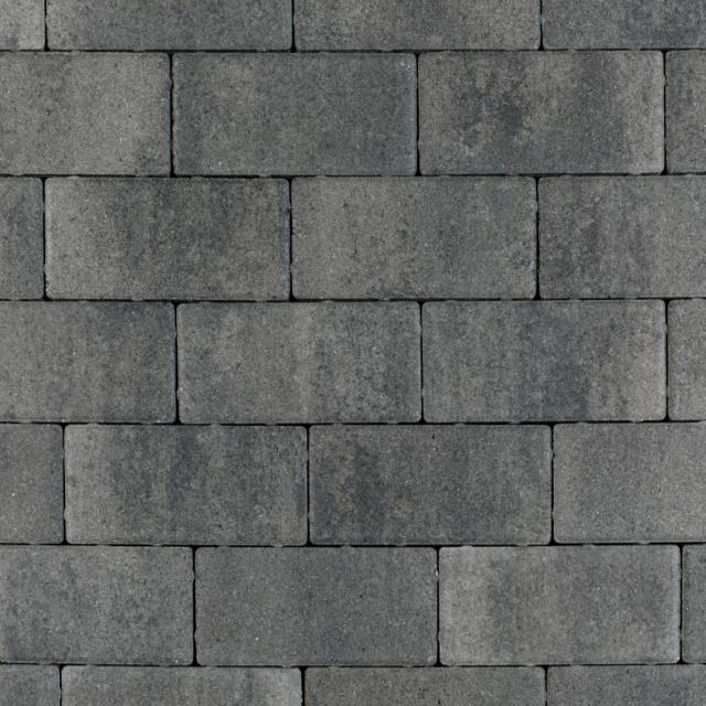 Betonklinker Nature Top Nero Grey Glad (NAT55BSS06GLAD)