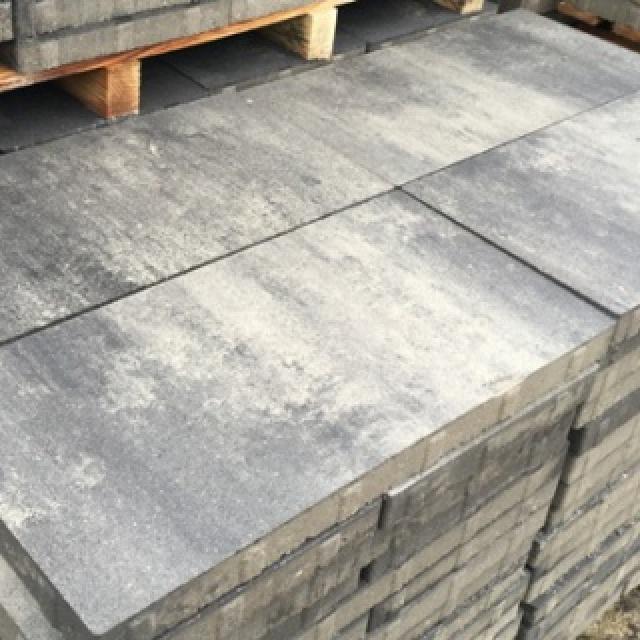 Groot Formaat Silver Grey