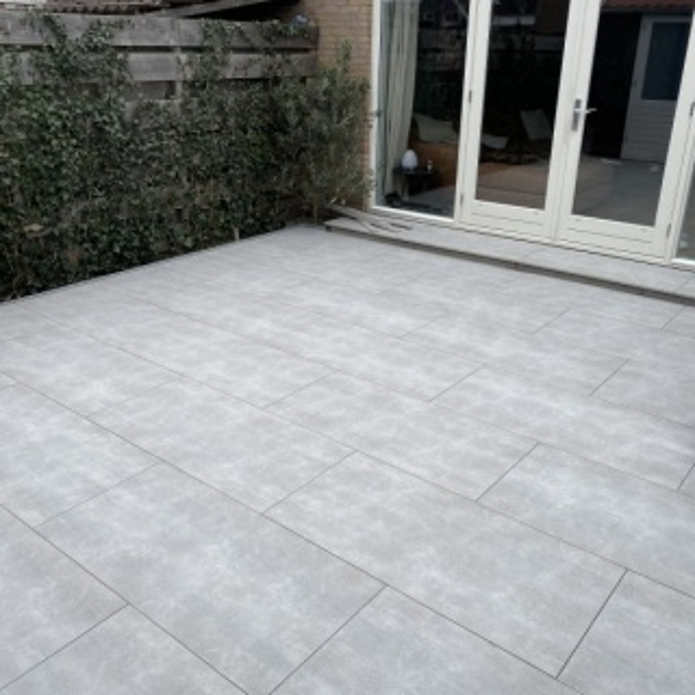 Keramische Tuintegel Florence Grey 120x60
