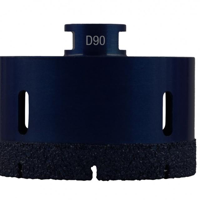 Tegelboor voor haakseslijper M14 droog Ø90