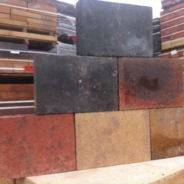 Cobblestones bont authentiek Getrommeld