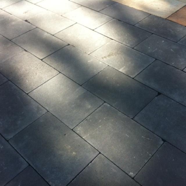 Cobblestones zwart genuanceerd (GEB0163)
