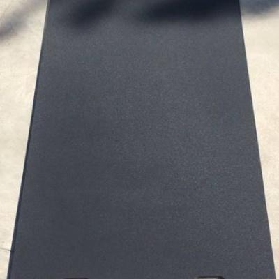 Kunststof rijplaat 2.00 x 100 x 1.5  dubbelzijdig fijn antislip