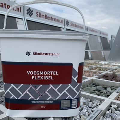 Slimbestraten Voegmiddel Pro Flexibel Basalt 12KG