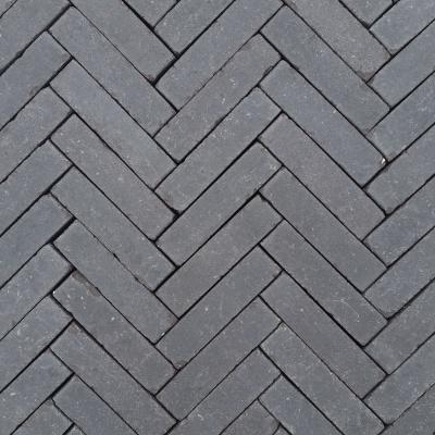 Nieuw Gebakken Waalformaat Antraciet/Zwart Getrommeld (DE0450206)